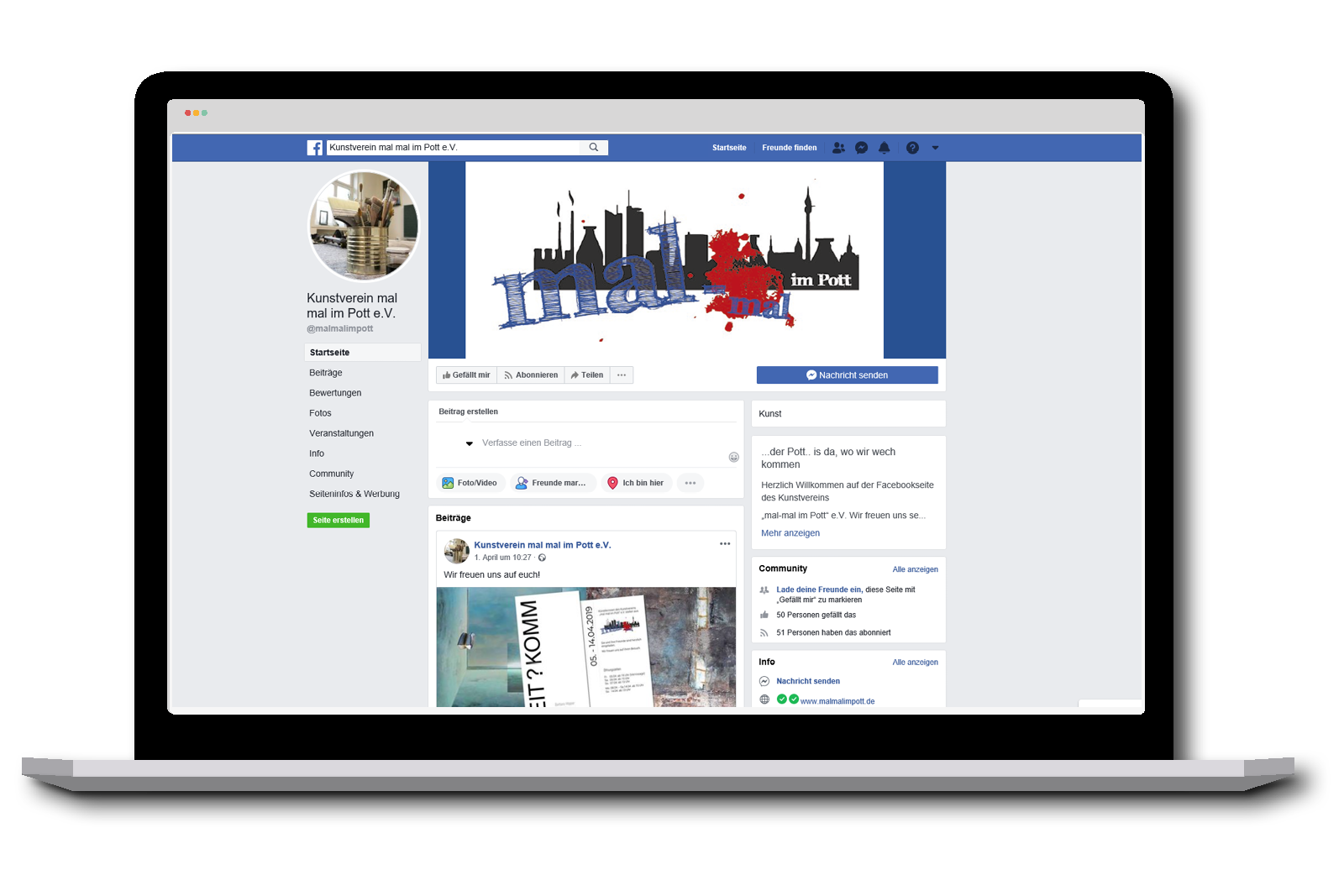 Facebook Kunstverein